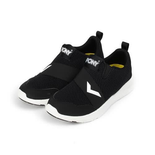 (女) PONY 限定版套式休閒鞋 黑 72W1SP91BK 女鞋 鞋全家福