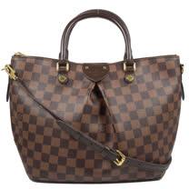 Louis Vuitton LV N41546 Siena MM 棋盤格紋兩用托特包(中 )_現貨