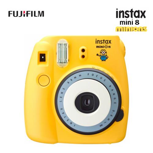 FUJIFILM instax mini 8 Minion 小小兵 拍立得相機 (公司貨)