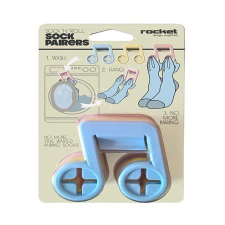 【義大利 Rocket】音符造型多功能襪子夾 (6個/組)