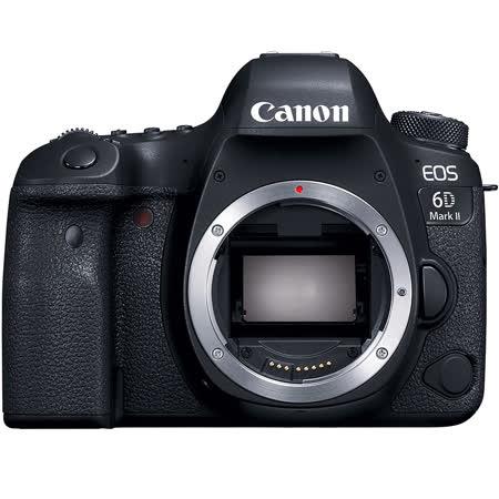 Canon EOS 6D Mark II (6D2,6DII) BODY 單機身(公司貨)-加送64G 90MB/S記憶卡+專用電池+快門線+大吹球清潔組+拭鏡筆+熱靴蓋水平儀+HDMI