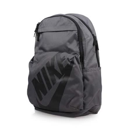 NIKE 後背包-雙肩包 旅行包 運動背包 灰黑 F