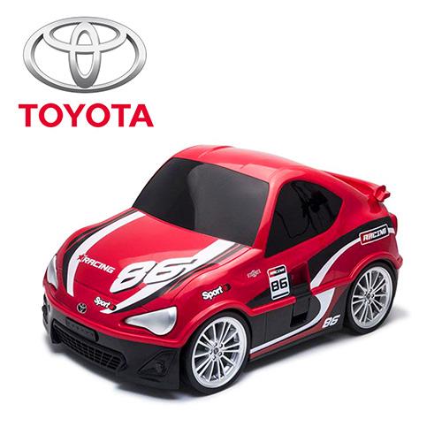 【nicegoods 好東西】RIDAZ原廠跑車兒童行李箱-紅色Toyota 86