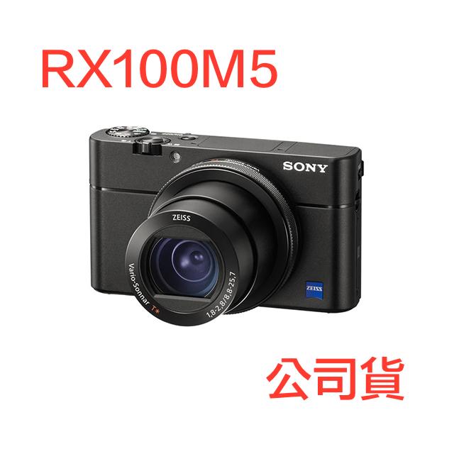 SONY RX100M5 大光圈類單眼相機 公司貨 送64G+電池+10050行動電源
