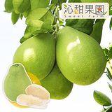 沁甜果園PM 台南麻豆40年老欉特A級文旦禮盒 (3台斤/箱,共2箱)