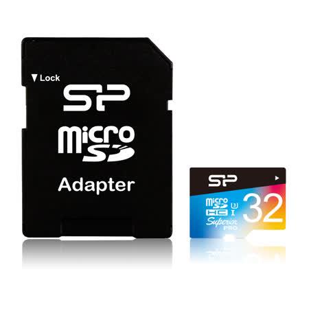 廣穎 SP 4K高畫質microSDXC UHS-1 U3 32GB記憶卡