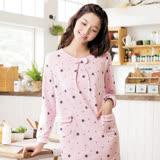 【華歌爾睡衣】甜心教主 M-L 睡衣裙裝(星星紅)