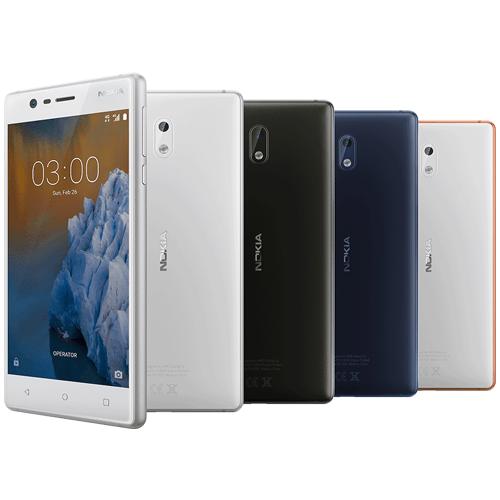 【NOKIA 3】四核心5 吋(2/16G)智慧型手機