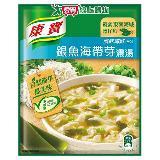 康寶濃湯自然原味銀魚海帶芽37g*2入/袋