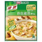 康寶濃湯自然原味香菇雞蓉36.5g*2入/袋