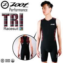 ZOOT專業級 肌能連身鐵人服 速線紅 男款