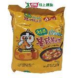 三養起士火辣雞肉乾燒拉麵140g*4入/袋
