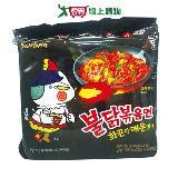 三養火辣雞肉風味鐵板炒麵140g*5入/袋