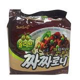 三養黑色炸醬麵140g*5入/袋