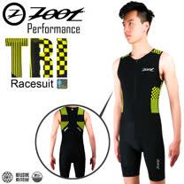 ZOOT專業級 肌能連身鐵人服 格紋黃 男款