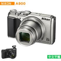 Nikon A900 數位相機*(中文平輸)-送SD64G-C10+專屬鋰電池+原廠相機包+中型腳架+讀卡機+相機清潔組+硬式保護貼