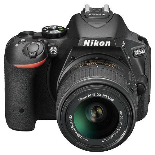 Nikon D5500 18-55mm VR(中文平輸) - 加送SD64G-C10+專屬鋰電池+單眼相機包+專屬拭鏡筆+大吹球+細毛刷+清潔組+高透光保護貼