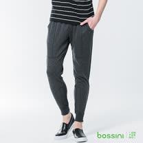 bossini男裝-針織長褲01灰