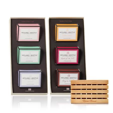 H&W英倫薇朵 經典3入手工皂禮盒團購組