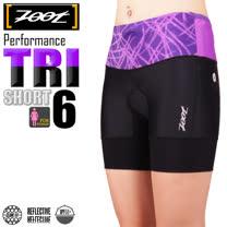 ZOOT 專業級 6吋肌能鐵人褲 女 薰衣紫