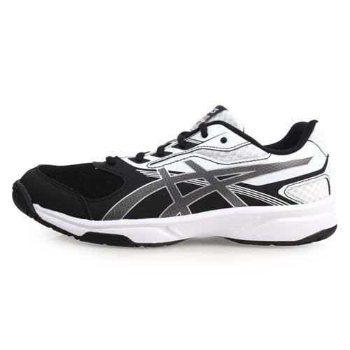 (女) ASICS UPCOURT 2 排羽球鞋-排球 羽球 亞瑟士 黑白