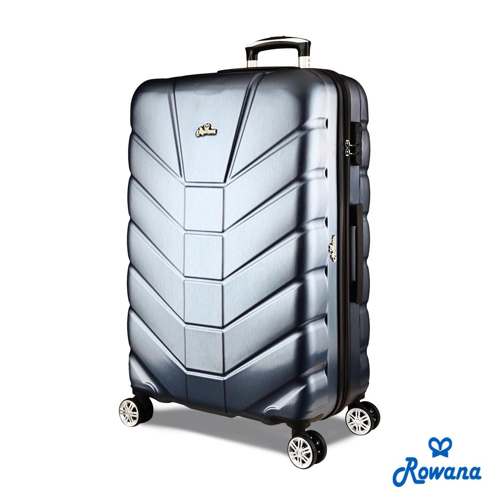 Rowana 星際騎士29吋PC防爆拉鍊旅行箱/行李箱 (太空灰)