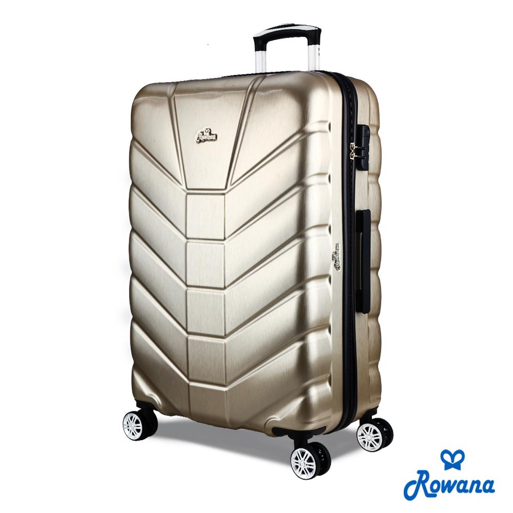 Rowana 星際騎士29吋PC防爆拉鍊旅行箱/行李箱 (爵士金)