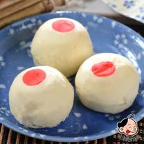 【大嬸婆】綠豆椪6入輕巧盒4盒組(50g/顆)