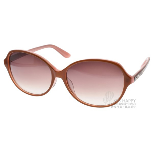 agnes b.太陽眼鏡 歐美百搭典雅款(粉棕) #AB2821 RK