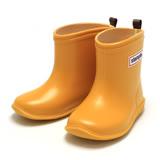 日本stample兒童雨鞋-布丁黃