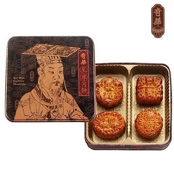 奇華至尊 迷你至尊禮盒4盒組 (4小/盒 鐵盒 附提袋)