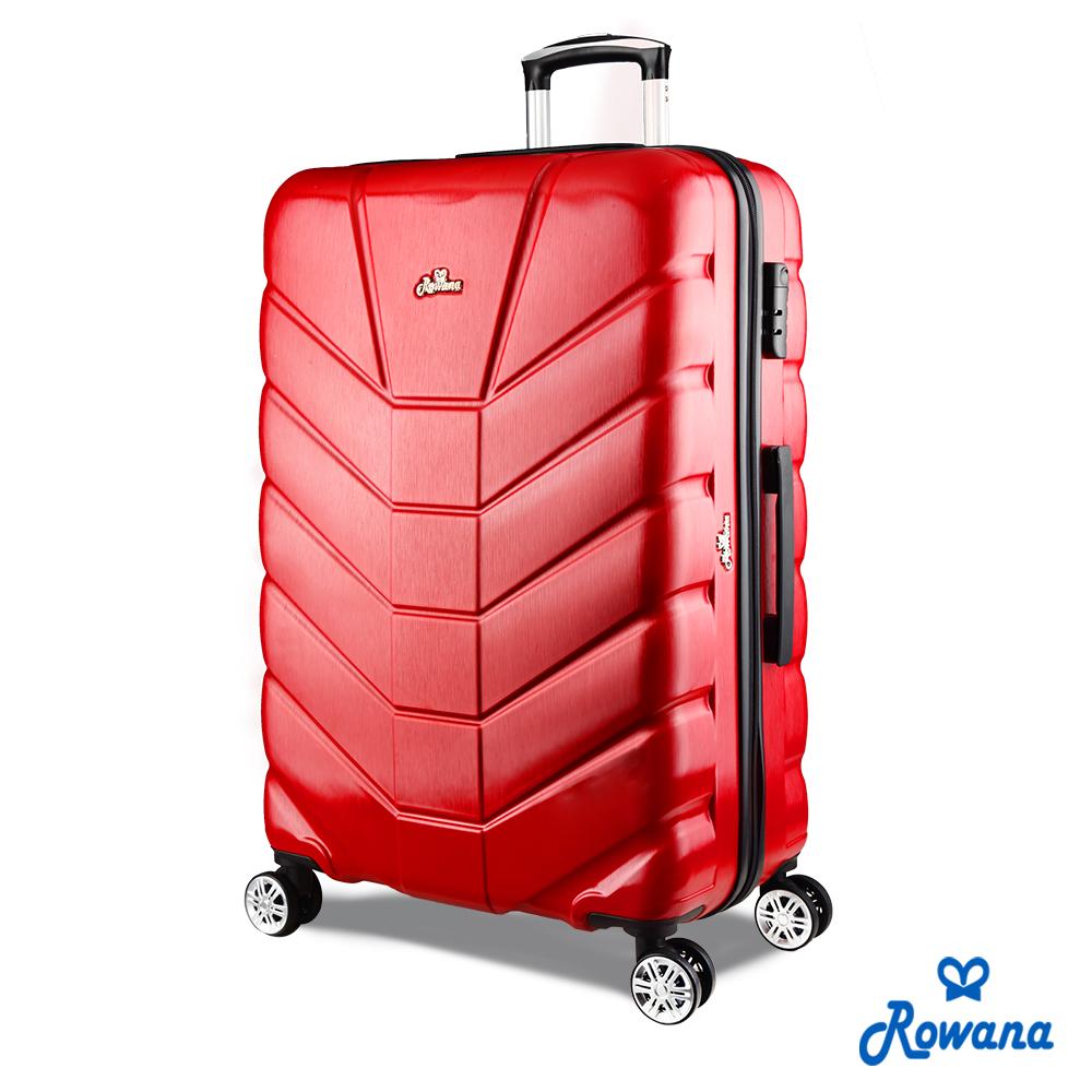 Rowana 星際騎士29吋PC防爆拉鍊旅行箱/行李箱 (火星紅)