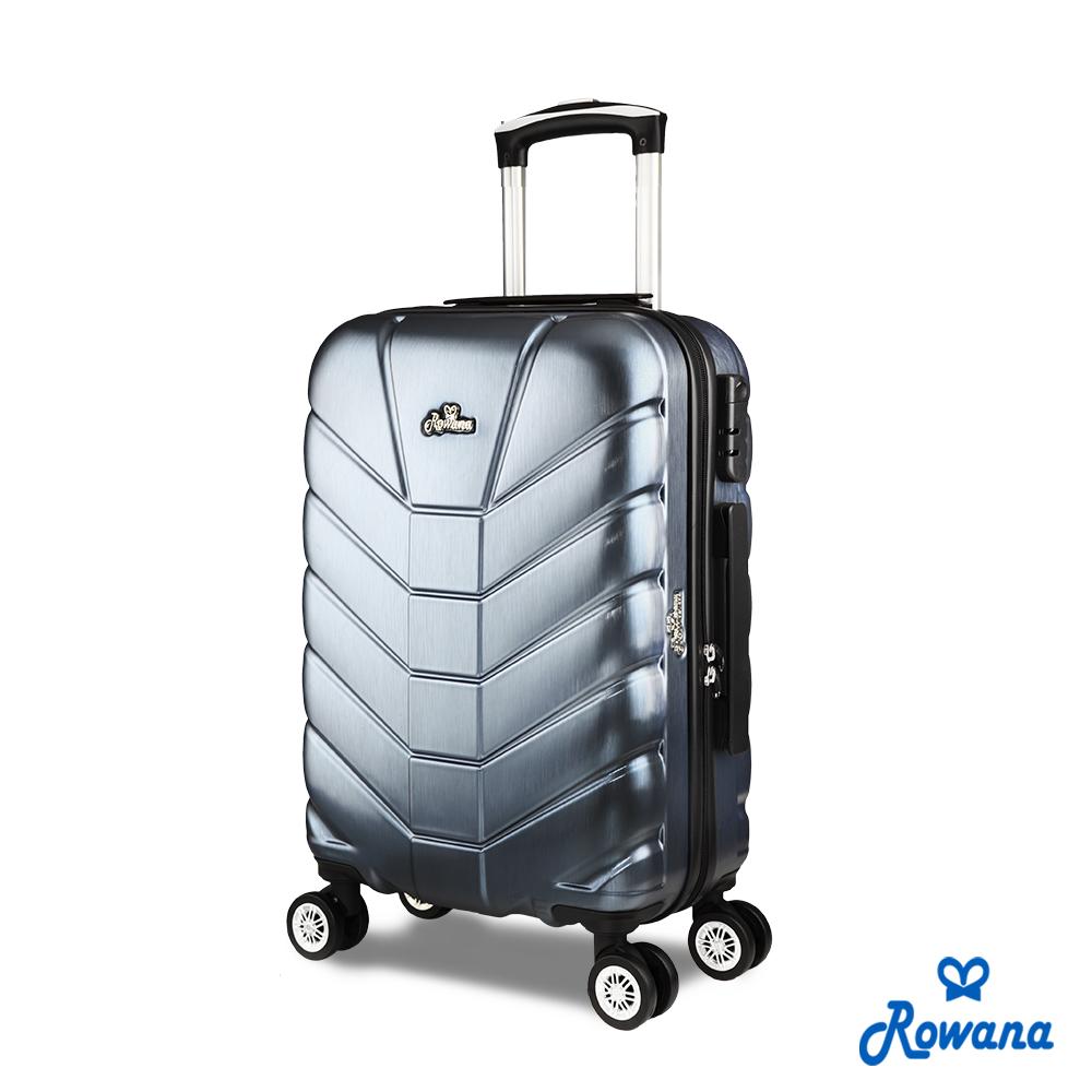 Rowana 星際騎士20吋PC防爆拉鍊旅行箱/行李箱 (太空灰)