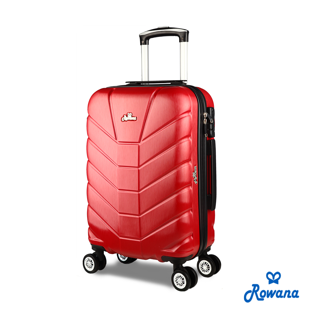 Rowana 星際騎士20吋PC防爆拉鍊旅行箱/行李箱 (火星紅)