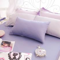OLIVIA 《 BEST 8 薰衣紫X銀紫 》 特大雙人床包枕套三件組 雙色系 素色雙色簡約