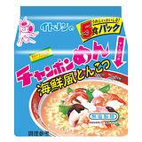 伊藤強棒拉麵海鮮豚骨味90g*5入/袋