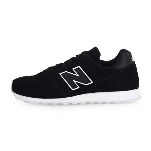 (女) NEWBALANCE 373系列 休閒運動鞋-D-寬楦 NB N字鞋 黑白