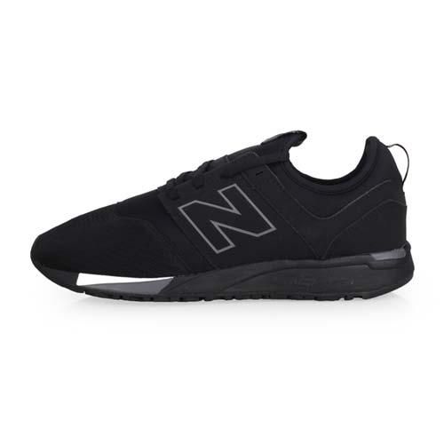 (男) NEWBALANCE 247系列 休閒運動鞋-D-寬楦 NB N字鞋 黑白