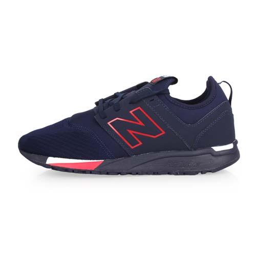 (男) NEWBALANCE 247系列 休閒運動鞋-D-寬楦 NB N字鞋 丈青紅