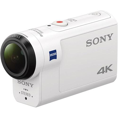 SONY FDR-X3000 4K 運動攝影機(公司貨)-加送64G高速卡+專用電池X2+專用座充+清潔組+小腳架+讀卡機+保護貼