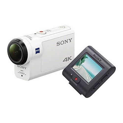 SONY FDR-X3000R 4K 運動攝影機(公司貨)-加送32G高速卡+專用電池X2+專用座充+清潔組+小腳架+讀卡機+保護貼