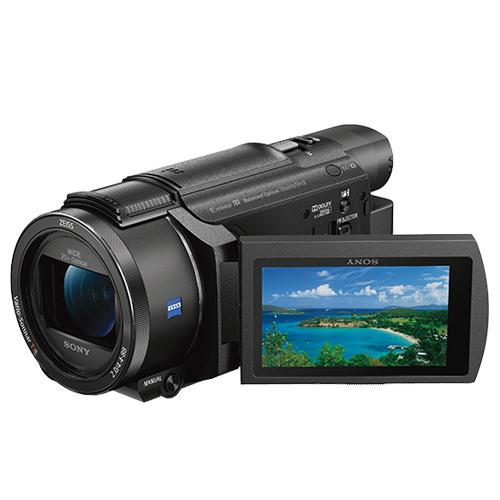 SONY FDR-AXP55 4K高畫質攝影機 可投影 公司貨 送64G+吹球清潔組+專用座充+專用電池FV100+攝影包