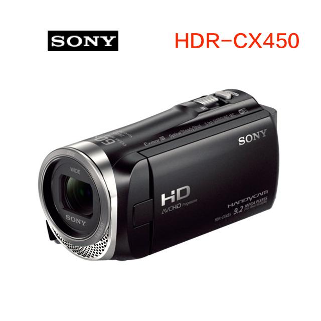 SONY HDR-CX450 高畫質攝影機 公司貨 送16G+吹球清潔組+專用座充+攝影包