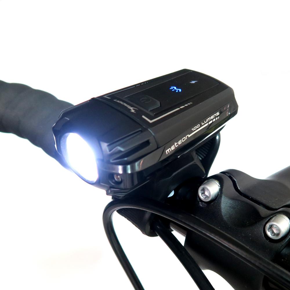 MOON METEOR 100 白光LED高亮度警示燈4段模式前燈頭燈