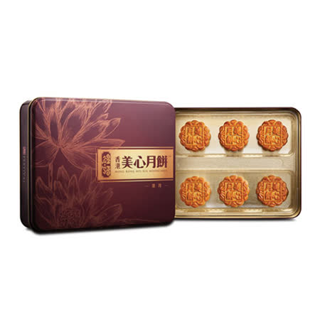 香港美心-頌月禮盒2盒