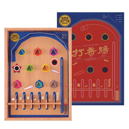黑橋牌-2斤蒜味香腸彈珠檯禮盒2盒