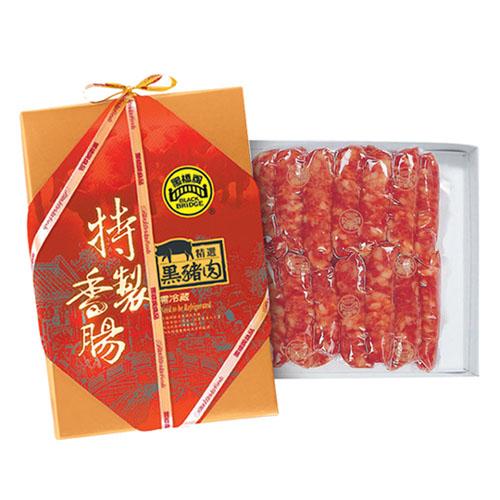 黑橋牌-2斤黑豬肉香腸禮盒2盒