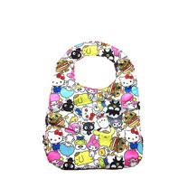 【美國Ju-Ju-Be媽咪包】HelloKitty聯名款BeNeat雙面防潑水嬰兒圍兜-Hello Sanrio 三麗鷗,全員集合!