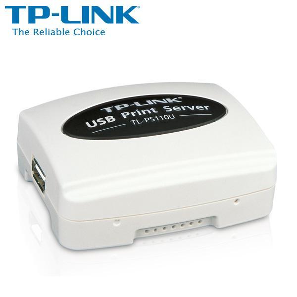 TP-LINK TL-PS110U 單一 USB2.0 連接埠快速乙太網路列印伺服器