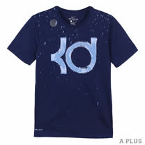 NIKE 男 AS KD M NK DRY TEE DF SPLATTER 圓領T(短)- 932414429